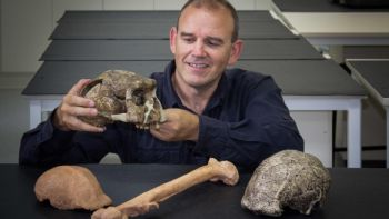 This is Dr Stephen Munro at the School of Anthropology and Archaeology at ANU. -  Phil Dooley, ANU